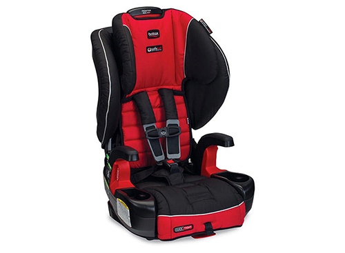 CAR SEAT BOOSTER: FRONT FACING